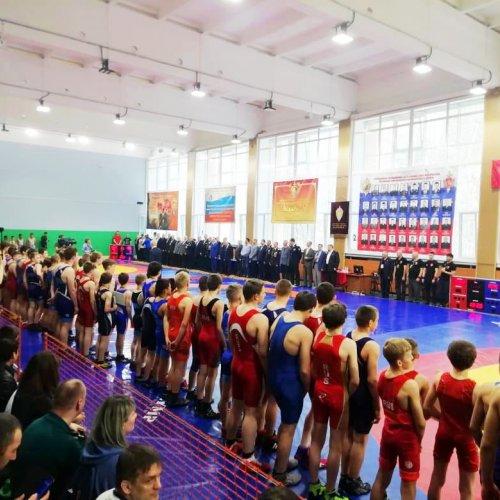 XVII международный турнир по греко - римской борьбе